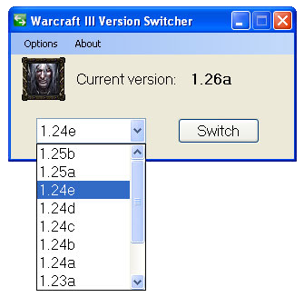 WarCraft III Version Switcher 2.1