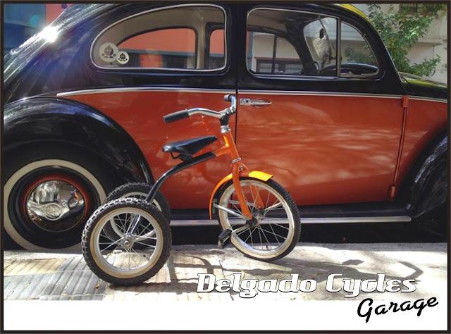 Triciclo Vintage Retro.