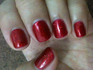 Gelish Nails for CNY