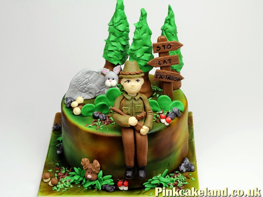 Forester Birthday Cake, London