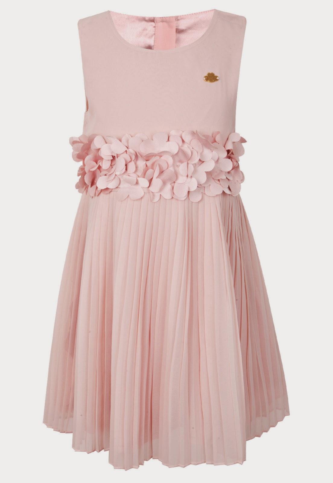 Vestido Lilica Ripilica Infantil Flower rosa