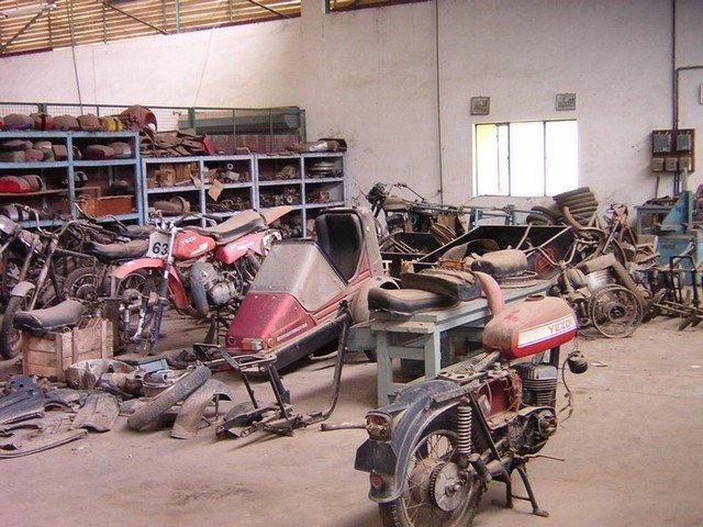 Ideal -Jawa-Motorcycles- Factory- Mysore-