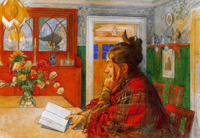 Karin Reading (Carl Larsson)