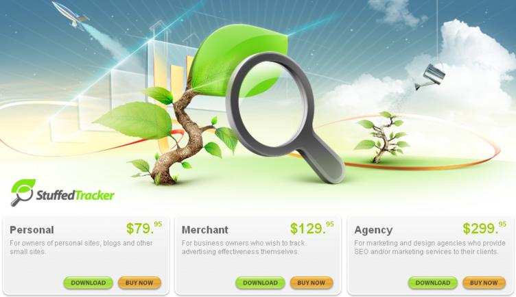 Stuffedtracker Web Analytics tool