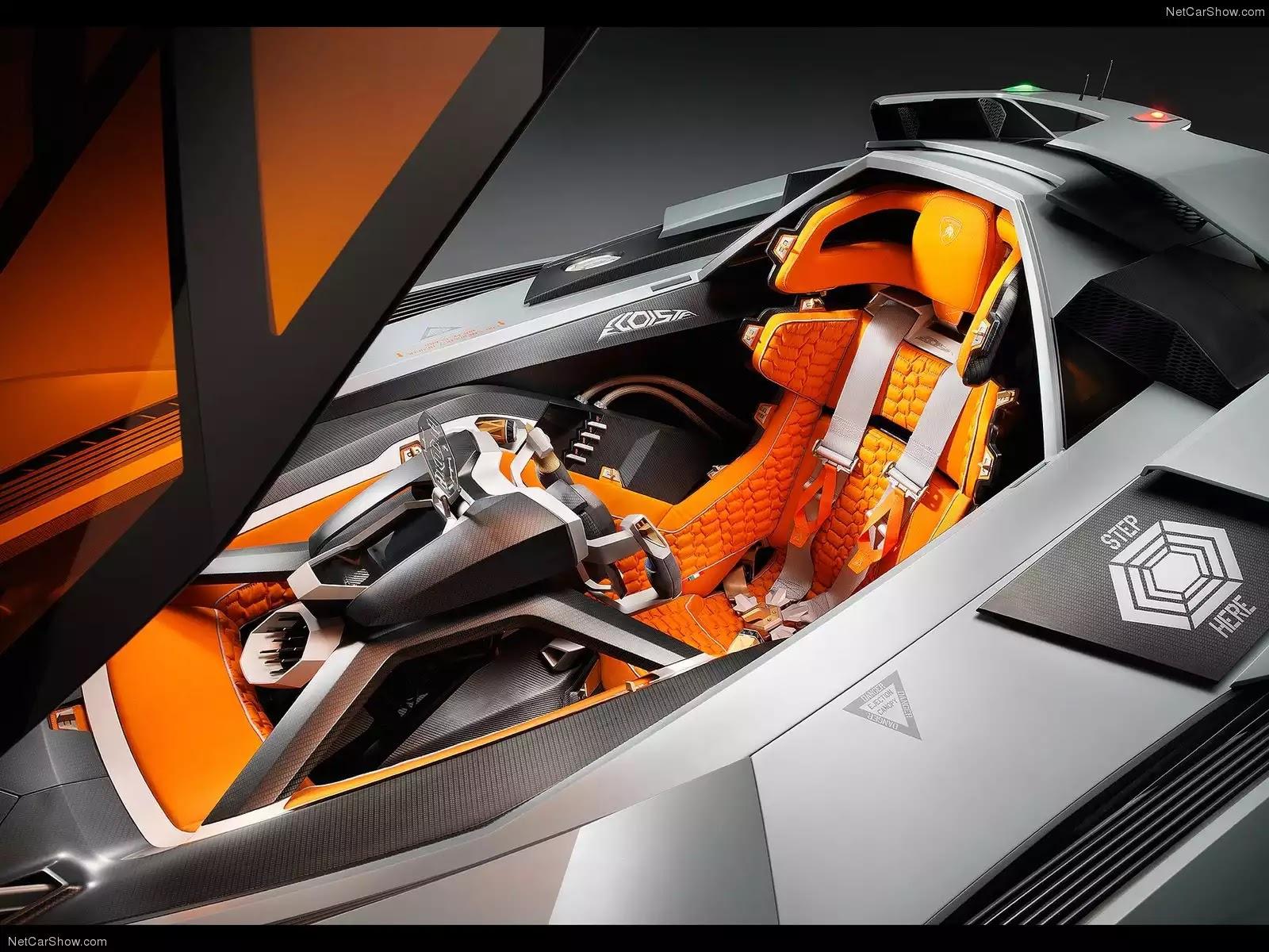 Hình ảnh siêu xe Lamborghini Egoista Concept 2013 & nội ngoại thất