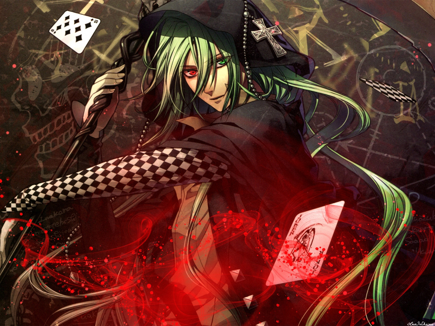 [AK] The Casino Master Part 1 [D] %5Banimefullfights.com%5D+fires_of_my_soul_manga_poker_green_hair_anime-hd-wallpaper-708963