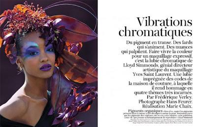 >Jourdan Dunn par LLoyd Simmonds pour Vogue Paris