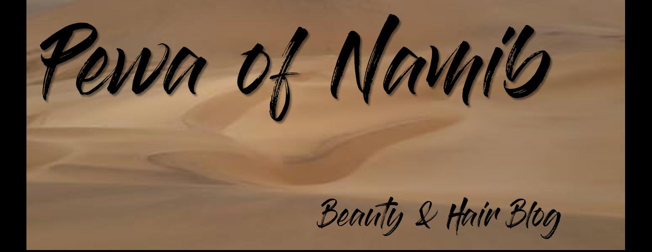 Pewa of the Namib