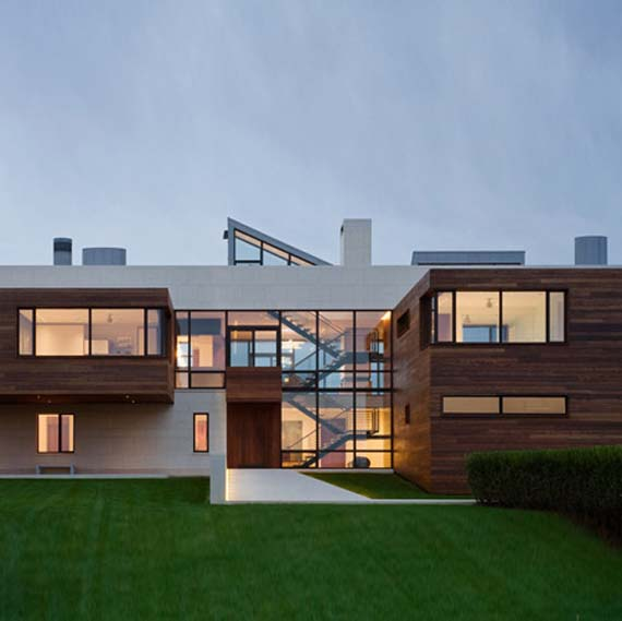 Southampton house beach house by alexander gorlin architects minimalist home dezine Dezine house