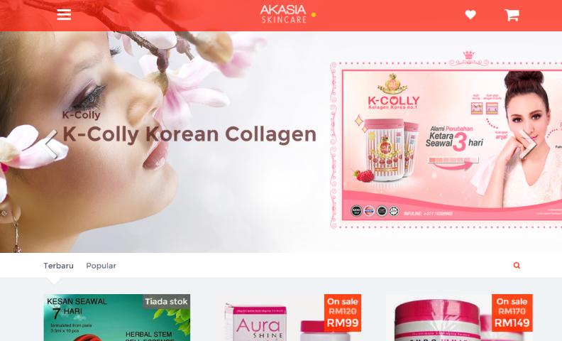 Akasia Laman Beli Belah Produk Kecantikkan No 1 Malaysia