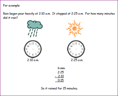 Time Worksheets : elapsed time worksheets with clocks ~ Free ...
