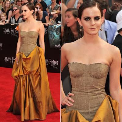 Emma Watson vestido harry potter
