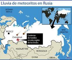METEORITO RUSIA, 15 DE FEBRERO 2013
