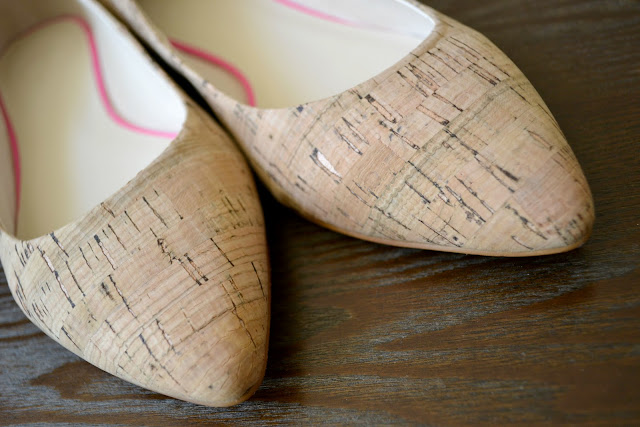 Mommy Testers CWonder cork pointed toe ballet flats #cbias