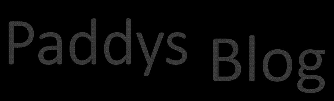 Paddys Blog