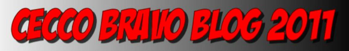 CECCO BRAVO BLOG 2011