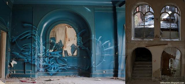 Mansión Lillesdensky castillo abandonado