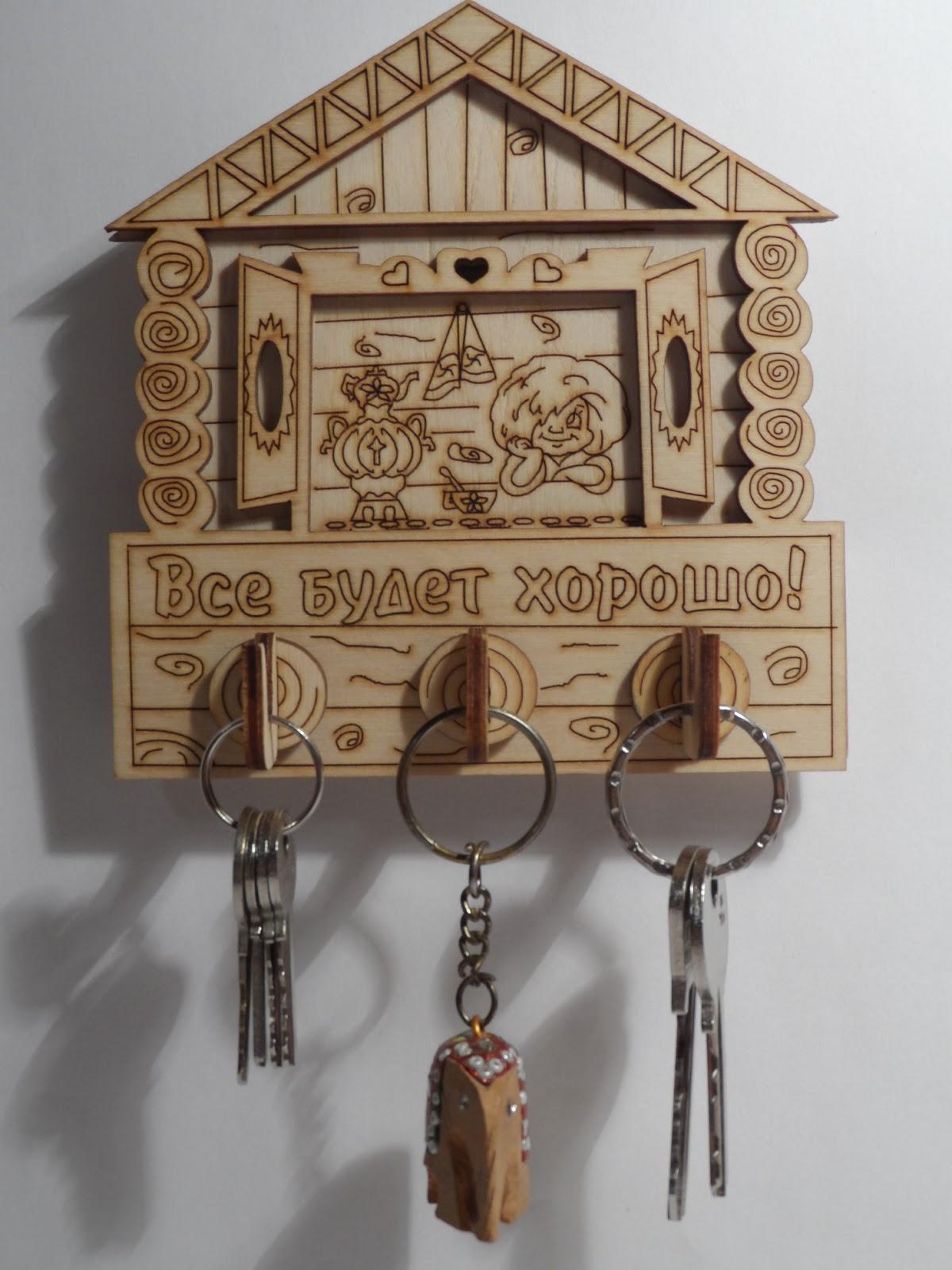 Ключницы для ключей своими руками 861