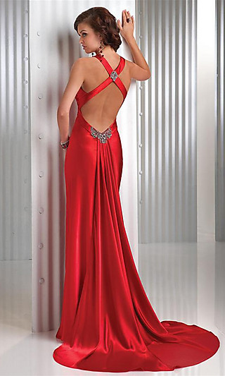 fashion world sexy red evening dress fashion world
