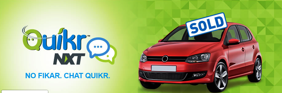 A better Car with Quikr NXT