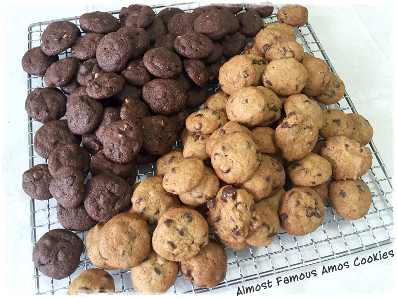 famous amos cookies research paper Line your sheet trays with baking paper step 2: cream the butter, shortening, sugars and salt together until light and fluffy add the vanilla, coffee oil and egg, and beat those in stir in the flour, ground oatmeal and baking soda.