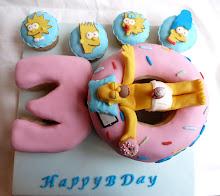 Torta Homer Simpson n°1