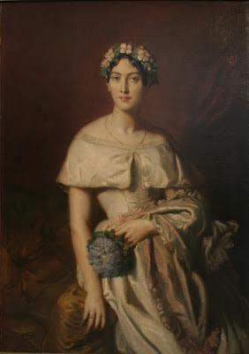 Retrato de Teresa de Cabarrus. Su nombre completo era el de Juana Ignacia Teresa de Cabarrus