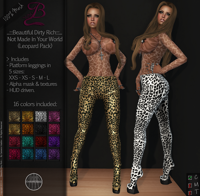 https://marketplace.secondlife.com/p/BDR-Not-Made-In-Your-World-Leopard-Pack-50-OFF-for-1-Week/5497955