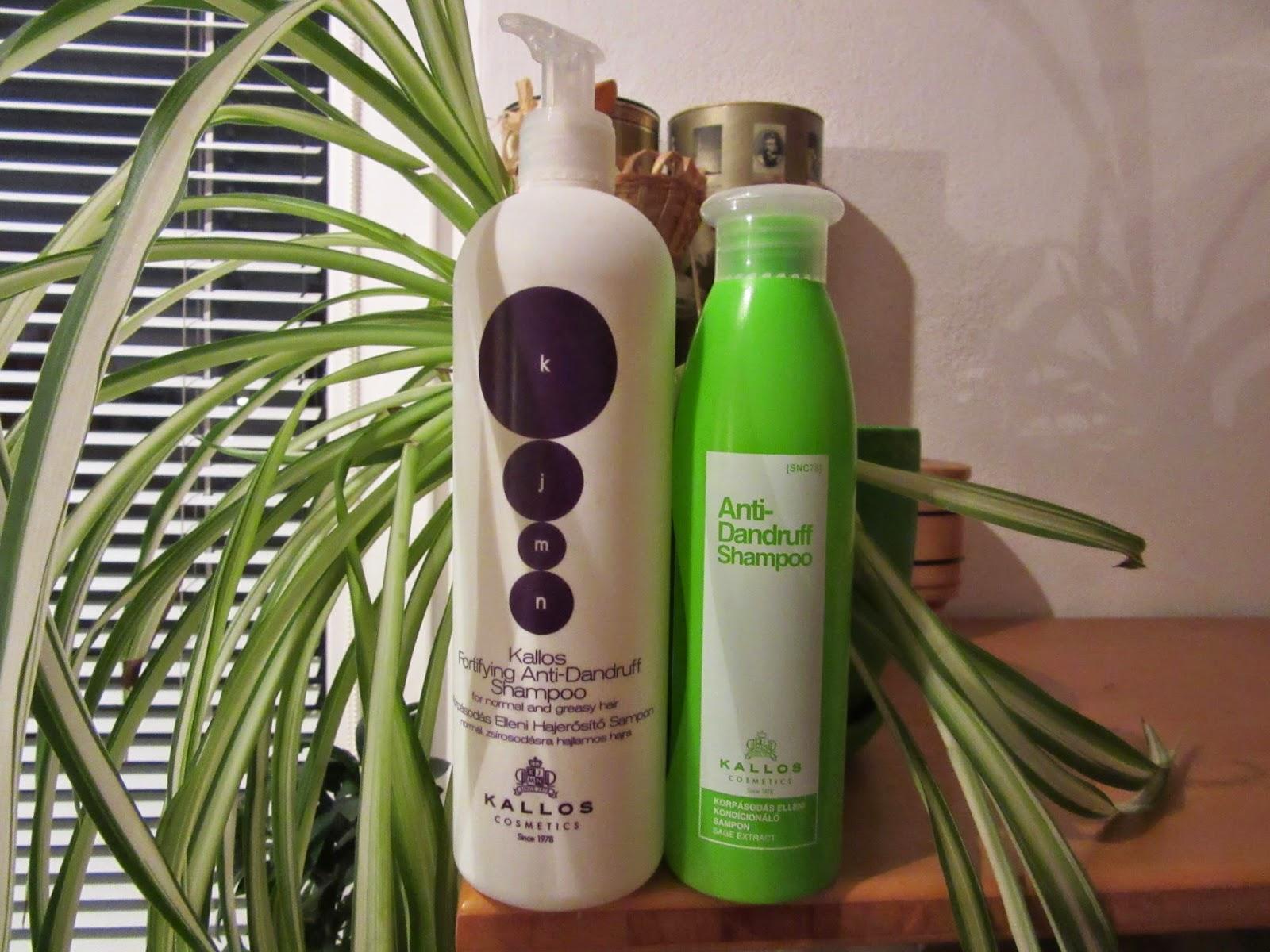Kallos: šampóny proti lupinám