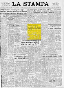 LA STAMPA 14 AGOSTO 1944