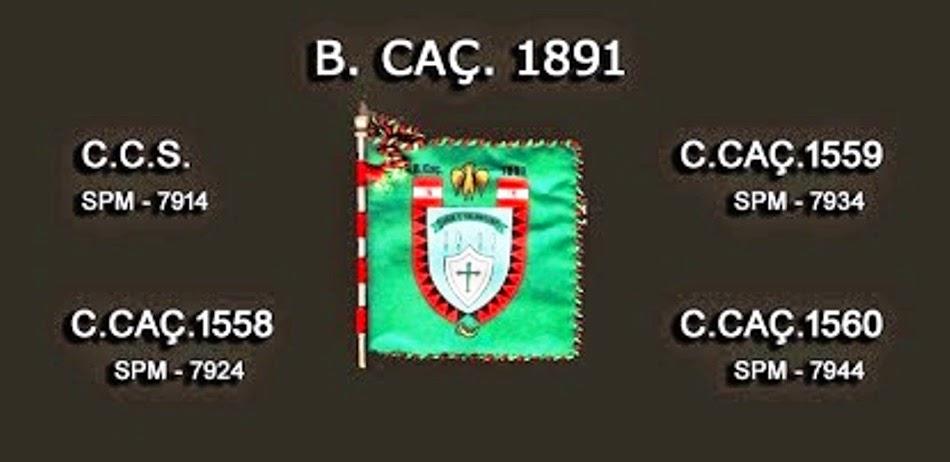 BATALHÃO DE CAÇADORES-1891
