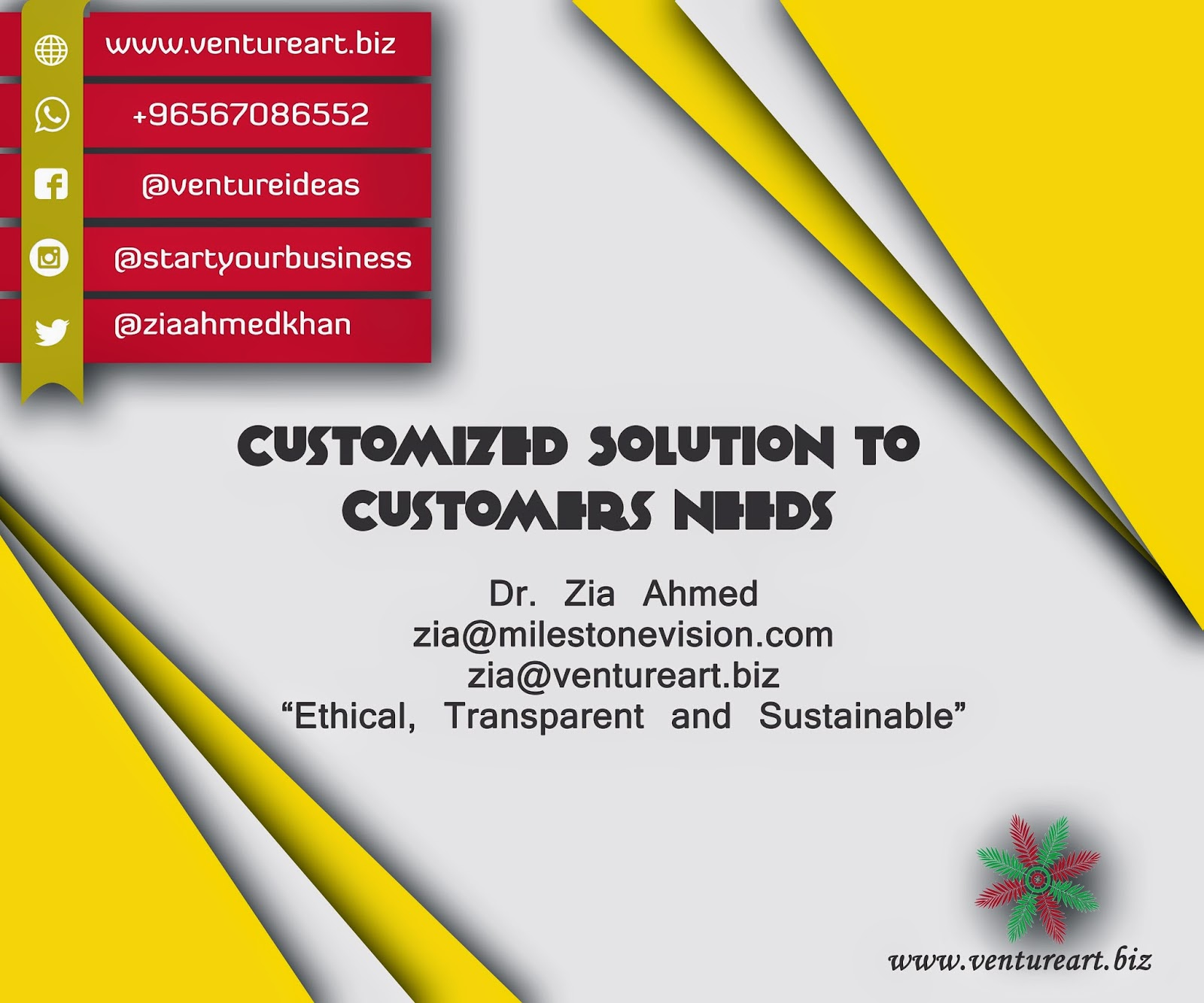 Venture Art Start-Up Solution