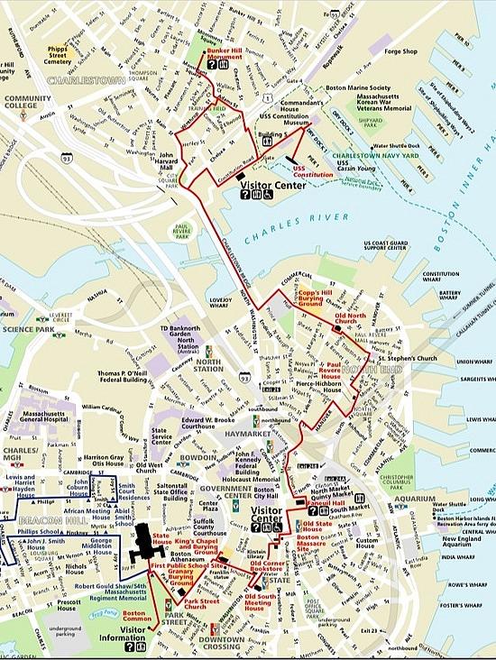 Boston Coffee Talk: Boston Freedom Trail