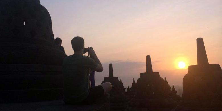 Koleksi Foto Mark, Pemilik Facebook Selama di Indonesia