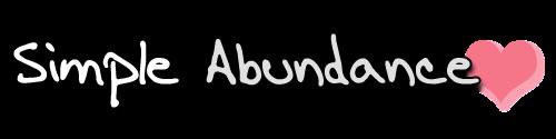 Simple Abundance by Adore