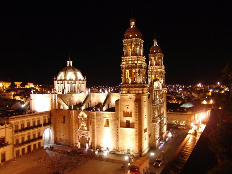 Visita Zacatecas de Noche