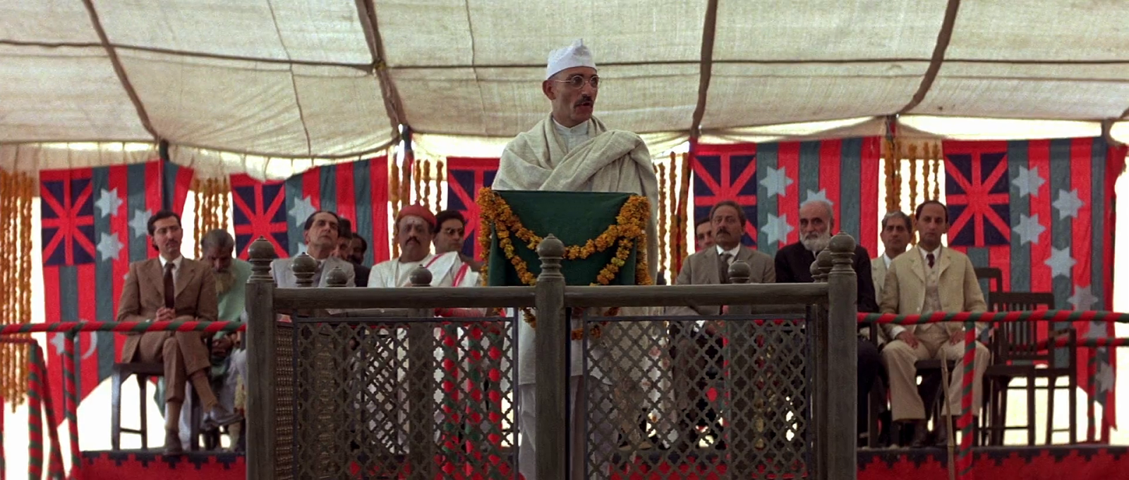 an interpretation of the movie gandhi Director richard attenborough's respect for mohandas k gandhi (1869-1948) is revealed in this film's opening statement: no man's life can be encompassed in one telling.