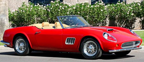 Ferris Bueller's Day Off car