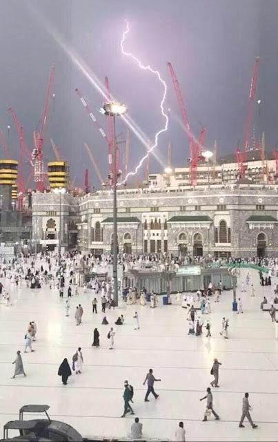 Mecca tragedy as crane crashes through ceiling killing many!