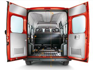2013 Fiat Ducato Cargo area