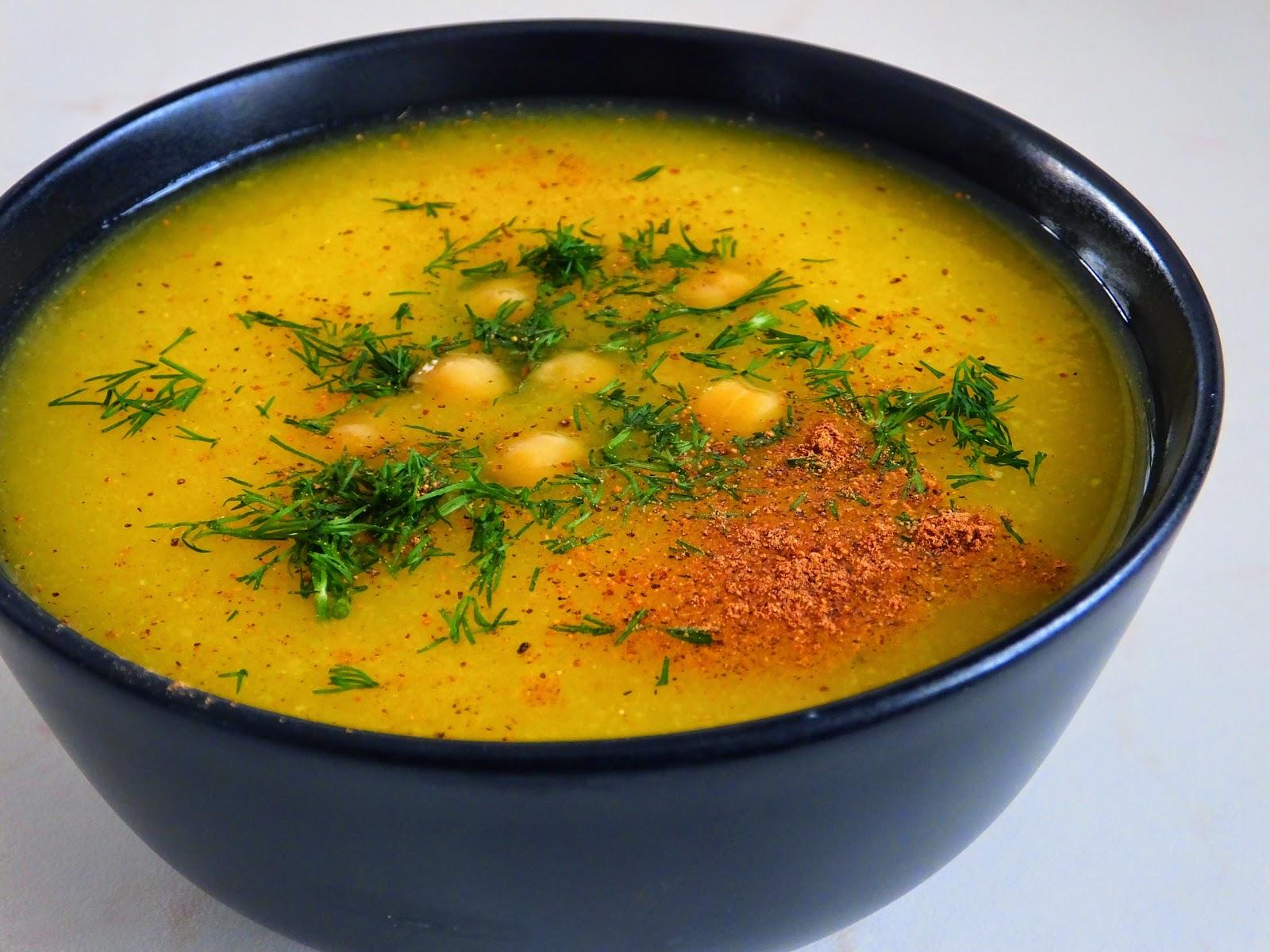 Zupa dyniowa z cieciorką