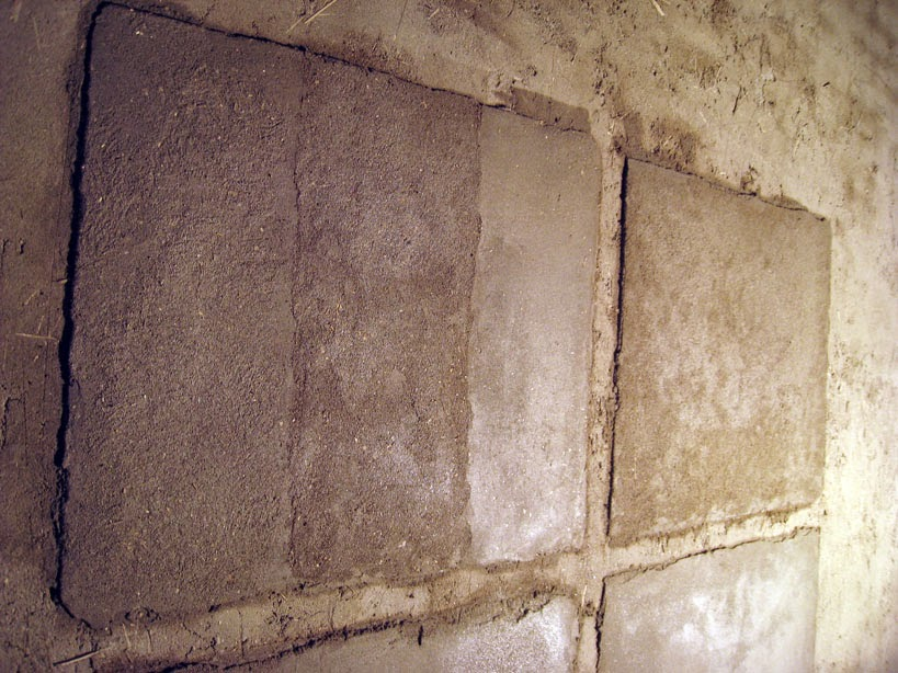 intonaco in argilla tipi finiture