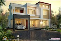 Kerala Flat Roof House Design