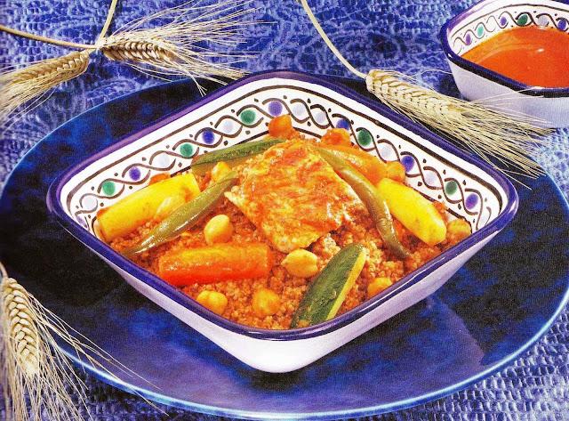 Découvrez la Recette Malthouth au poisson de la cuisine tunisienne