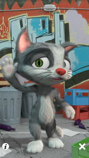 Talking tom for nokia