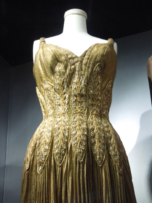Piper Laurie Golden Blade movie gown