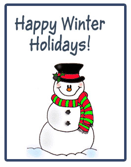 Image result for happy winter holidays to kids