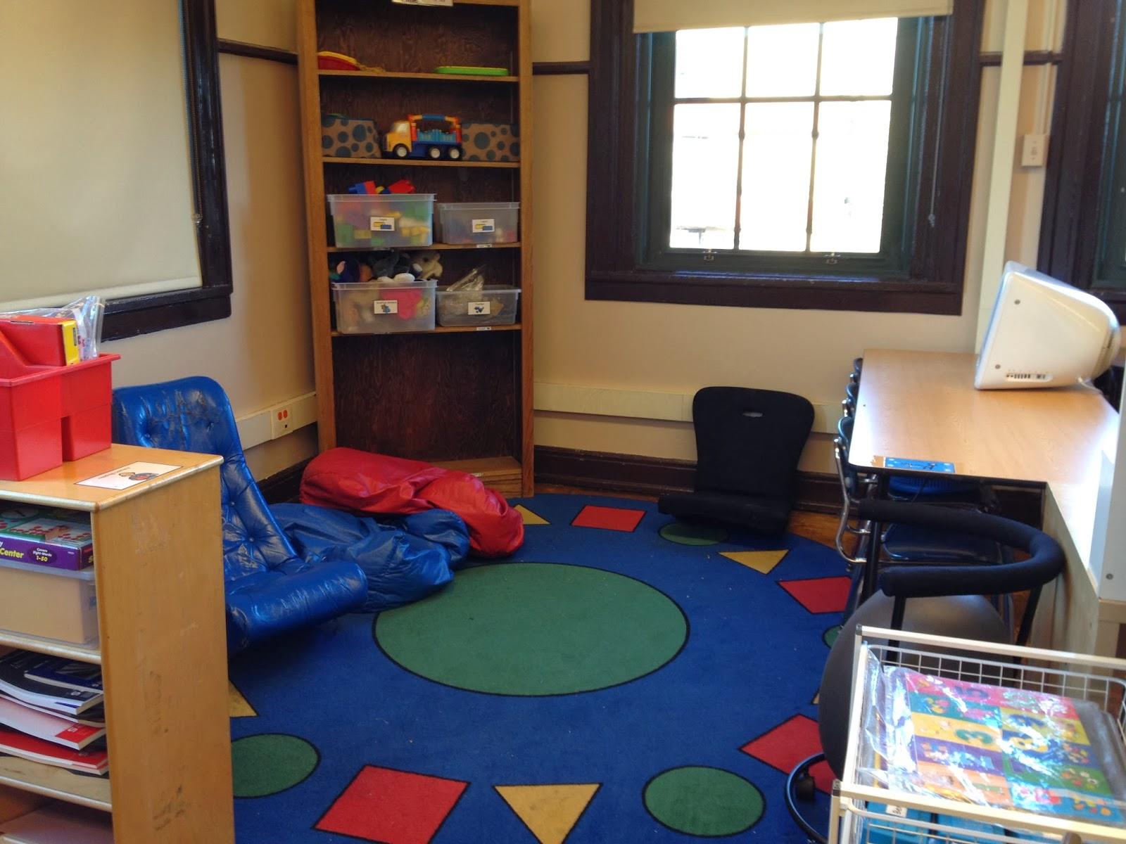 Classroom Ideas For Autistic Students ~ Autism tank classroom tour break area
