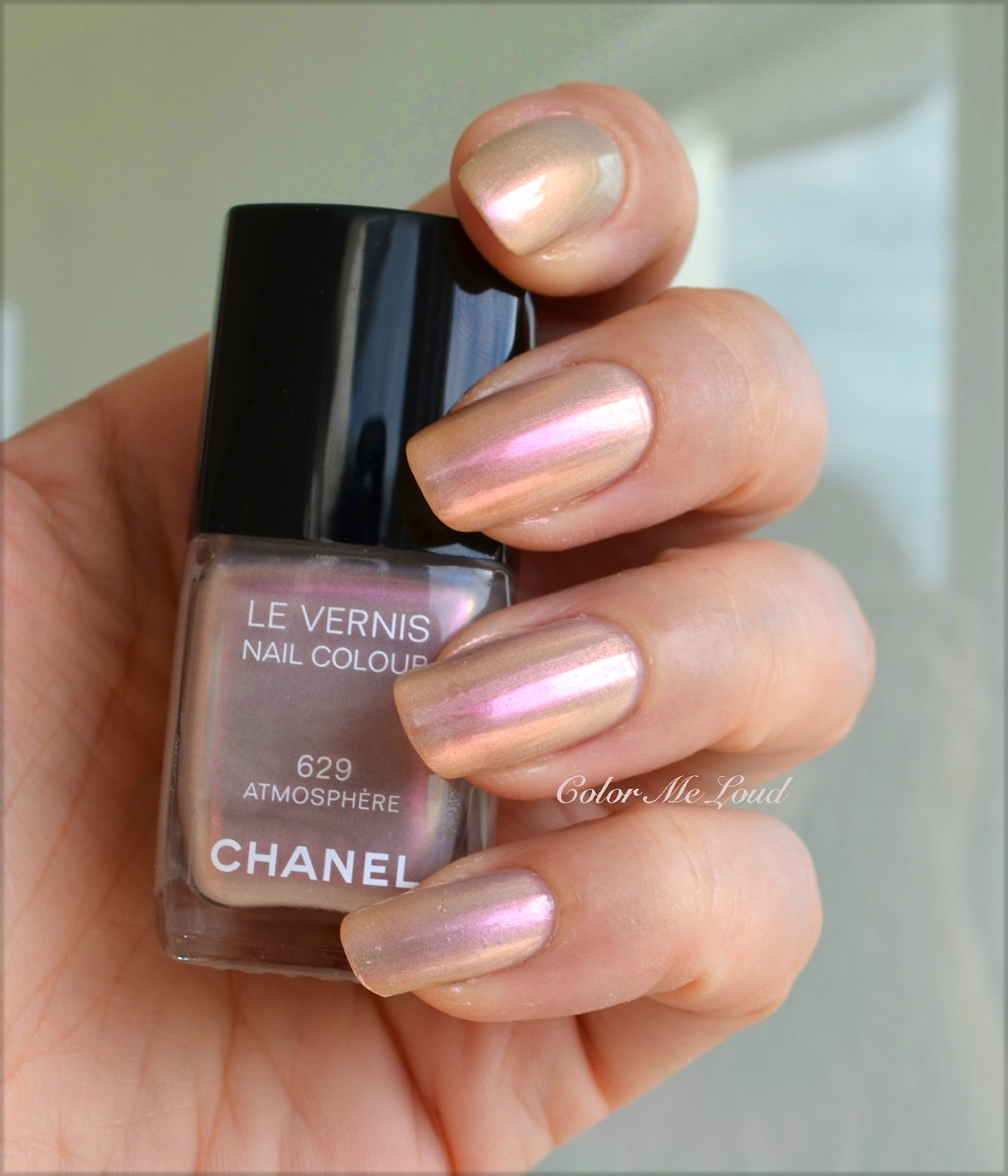 Exceptionnel Chanel Le Vernis #625 Secret, #629 Atmosphere and #631 Orage from  TI21