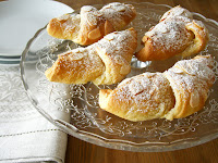 Chocolate OR Frangipane filled Croissants
